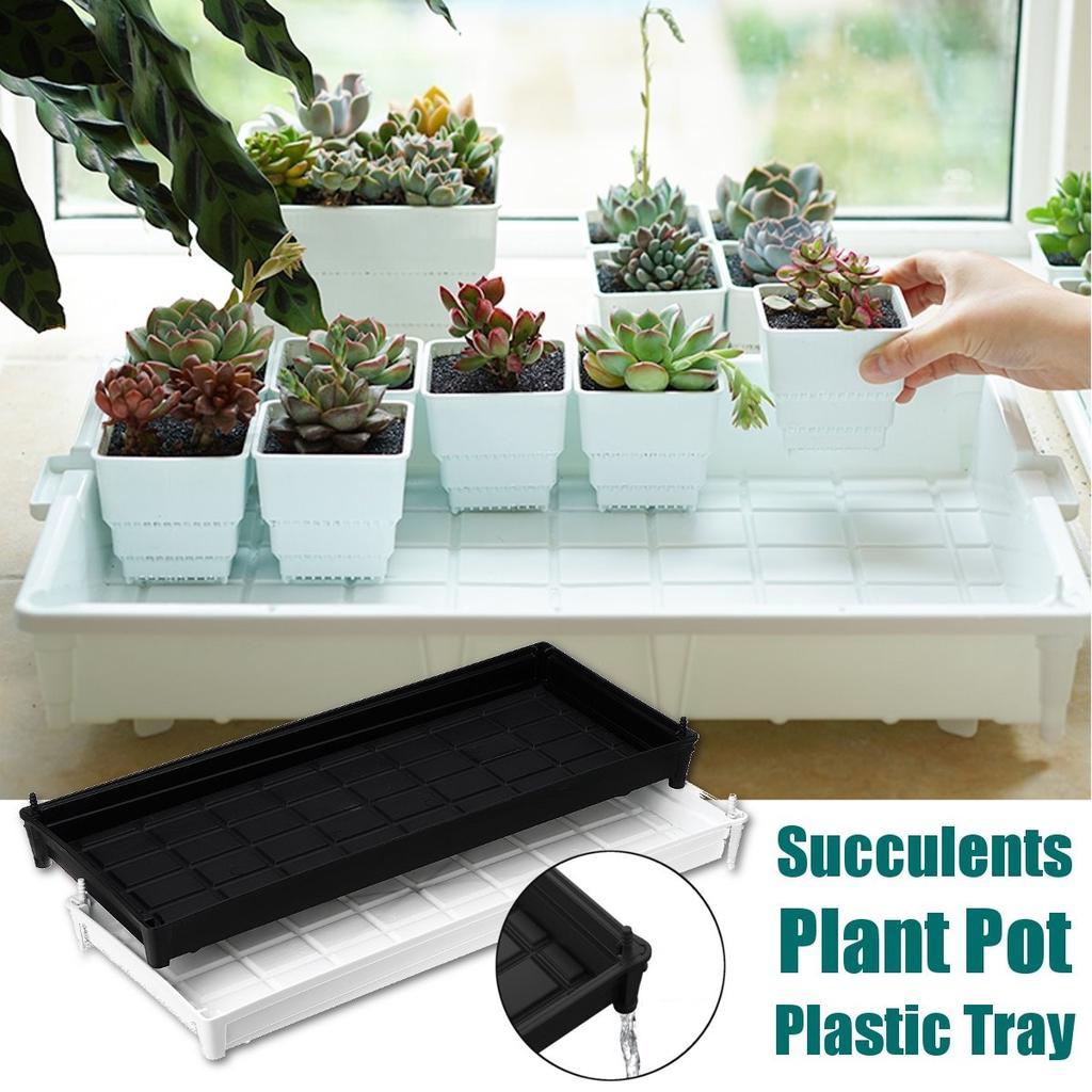 2pcs Plastic Tall Plant Pots Flower Pots Indoor Outdoor Planter f// Orchid Cactus