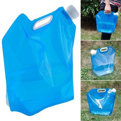 5L Folding Water Lifting Bag Bucket Outdoor Survival