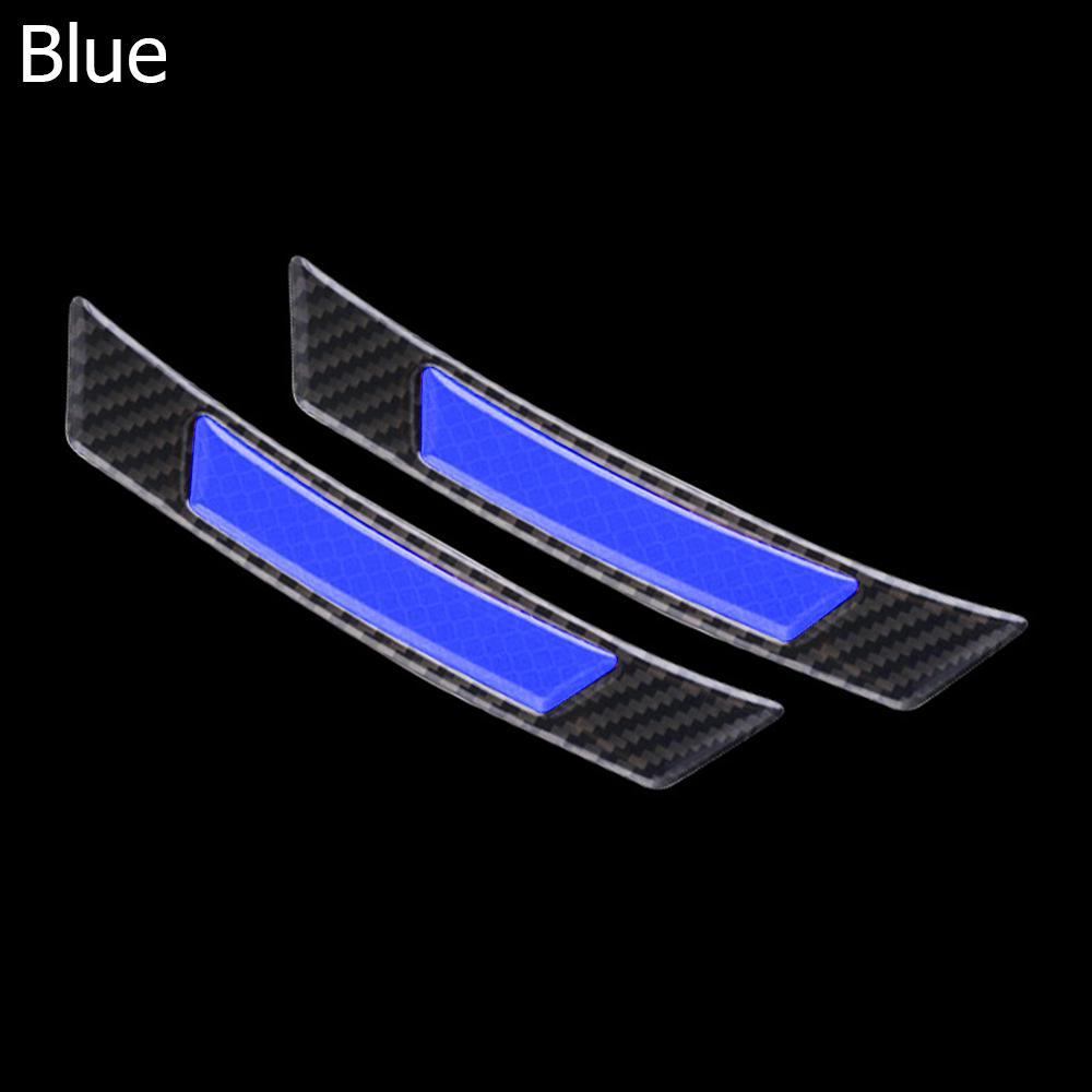Protection Strip Wheel Eyebrow Edge Guard Car Reflective Sticker Carbon Fiber