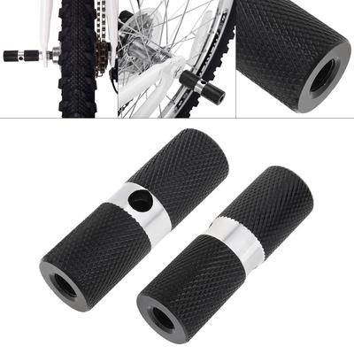 Newest 2X  Mountain Bike Bicycle Axle Pedal Alloy Foot Stunt Pegs Cylinder C