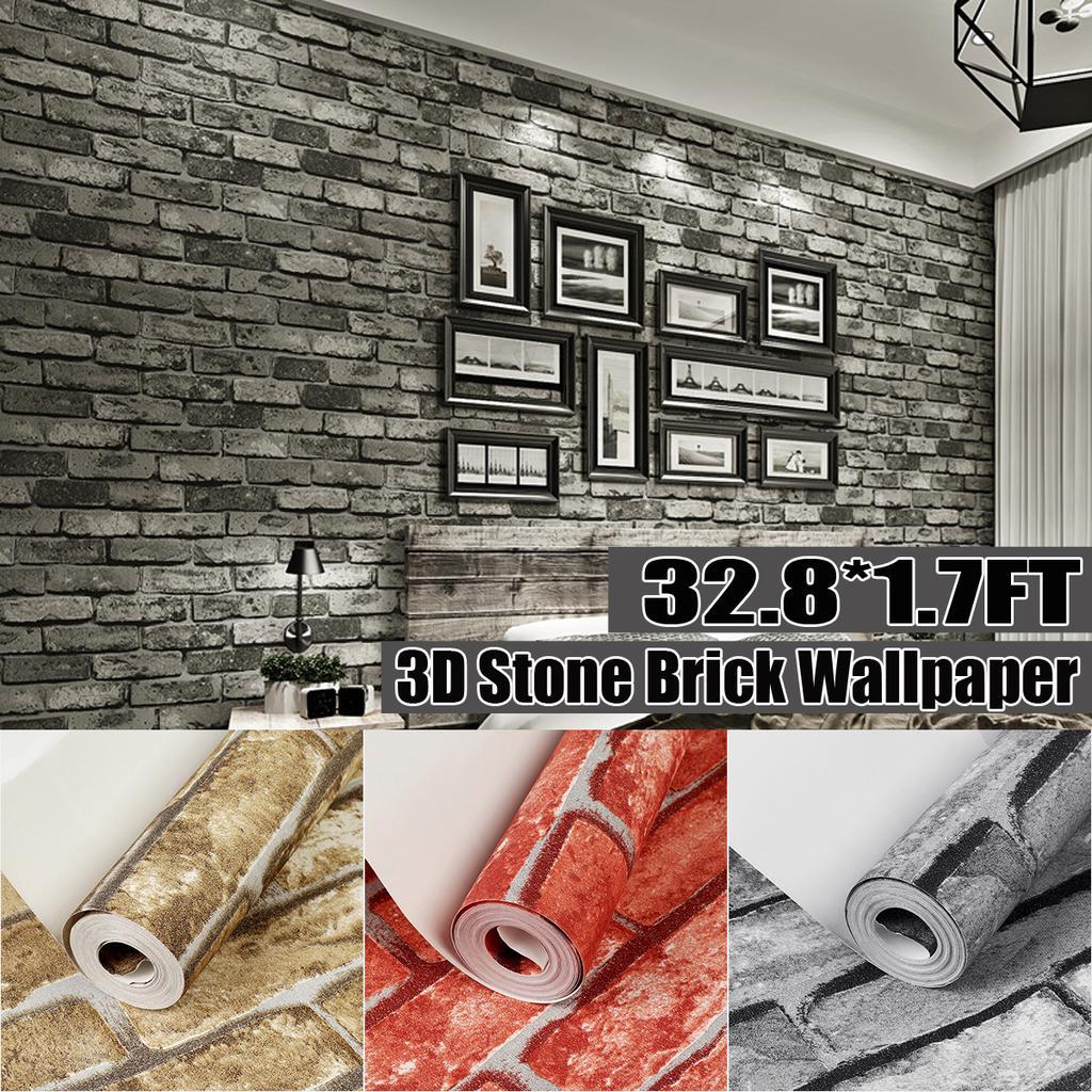 3d Door Wallpapers Self-adhesive Murals Durable Waterproof Wallpaper Cover Decor