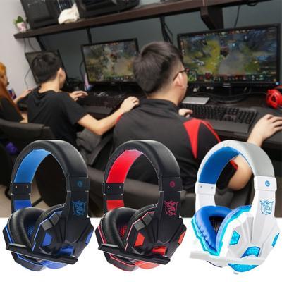 3.5 mm Cool Surround Stereo Gaming Headset archetto delle cuffie con  microfono per PC b903994dab84