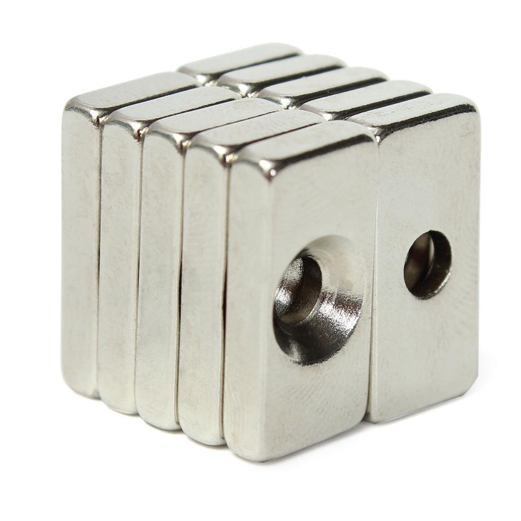 10 Stück N50 Starke Erde Neodym Magnete 10x20mm Runde Zylinder Magnet