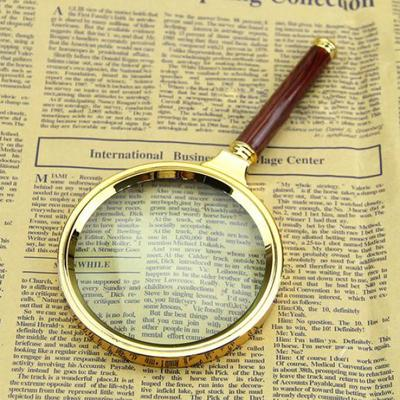 New 80mm Handheld 10X Magnifier Magnifying Glass Loupe Reading Jewelry