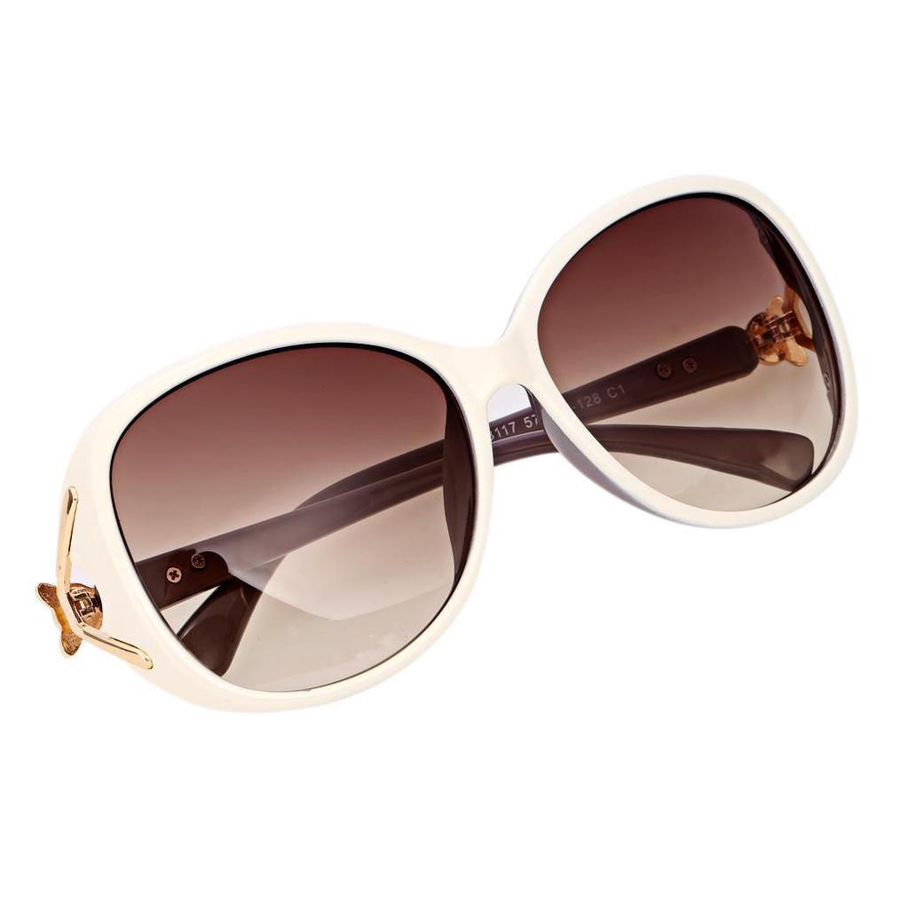 Mode-Unisex Oversize Objektiv Sonnenbrillen Brillen Kunststoff ...