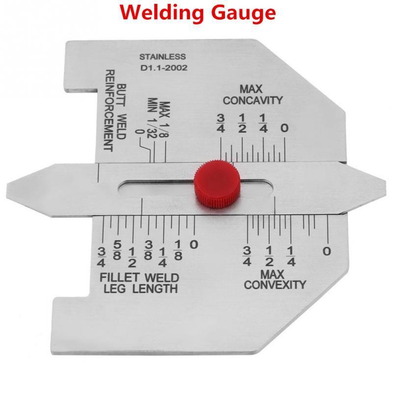 Welding gauge fillet welds butt welds stainless Steel Body