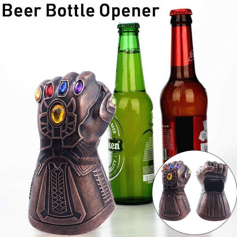 10PCS Retro Vintage Metal Wall Mount Open Wine Beer Soda Glass Cap Bottle Opener