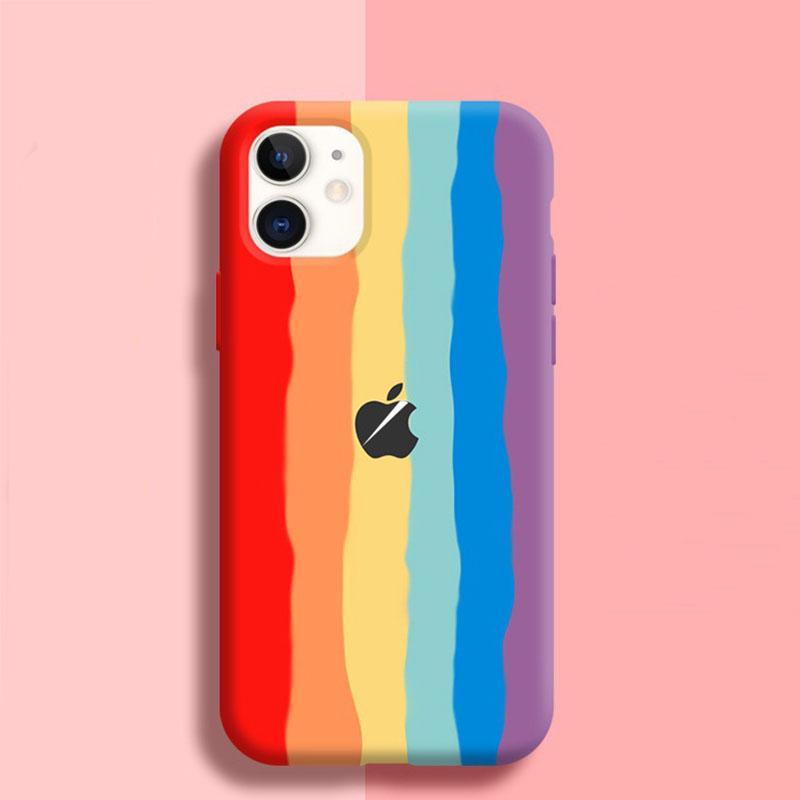 SILICONE RAINBOW GRADIENT Phone Case