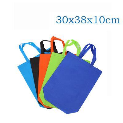 821745d8763 Nonwoven Grocery Foldable Bag Shopping Storage Reusable Eco Tote Bag Handbag
