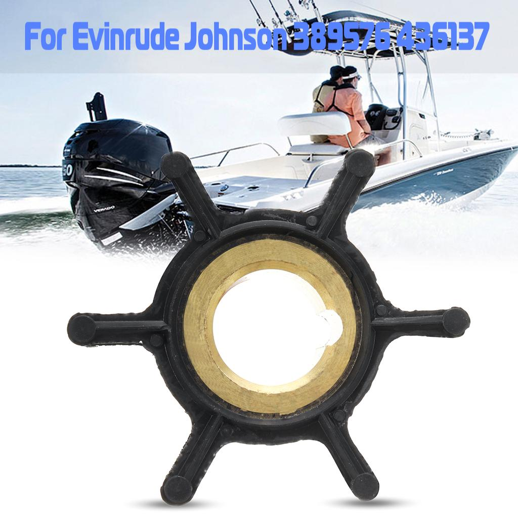 Water Pump Impeller For Evinrude Johnson 4HP-8HP Outboard Motor 389576 436137