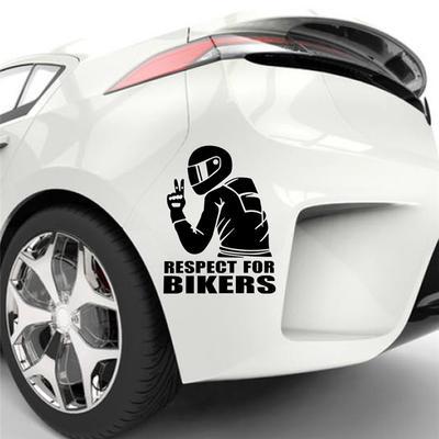 AUTO CAR SKULL CRACKED ROCK STICKER PET MATERIAL