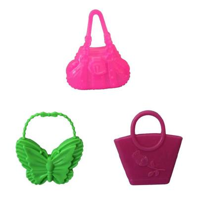 3b772e6813a8 PCS Bags Barbie Styles 10 Accessories Mix Fashion For Toy Doll Colorized  Morden Mum Kids Toys