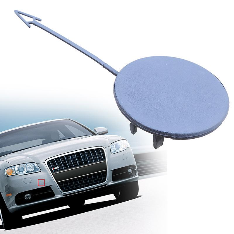X AUTOHAUX Car Front Bumper Tow Hook Cover Cap for Audi A4 2006-2007 8E0807241C