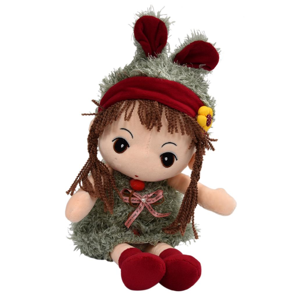 Romantic Sweet Simulation Airplane Plush Stuffed Doll AirplaneToy Kids Gift Color : Green, Size : 40cm