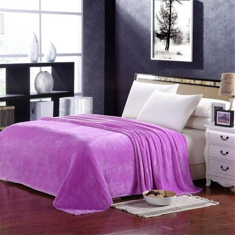 精品保暖法兰绒毛毯儿童毯家居旅行毯电视毯宠物毯