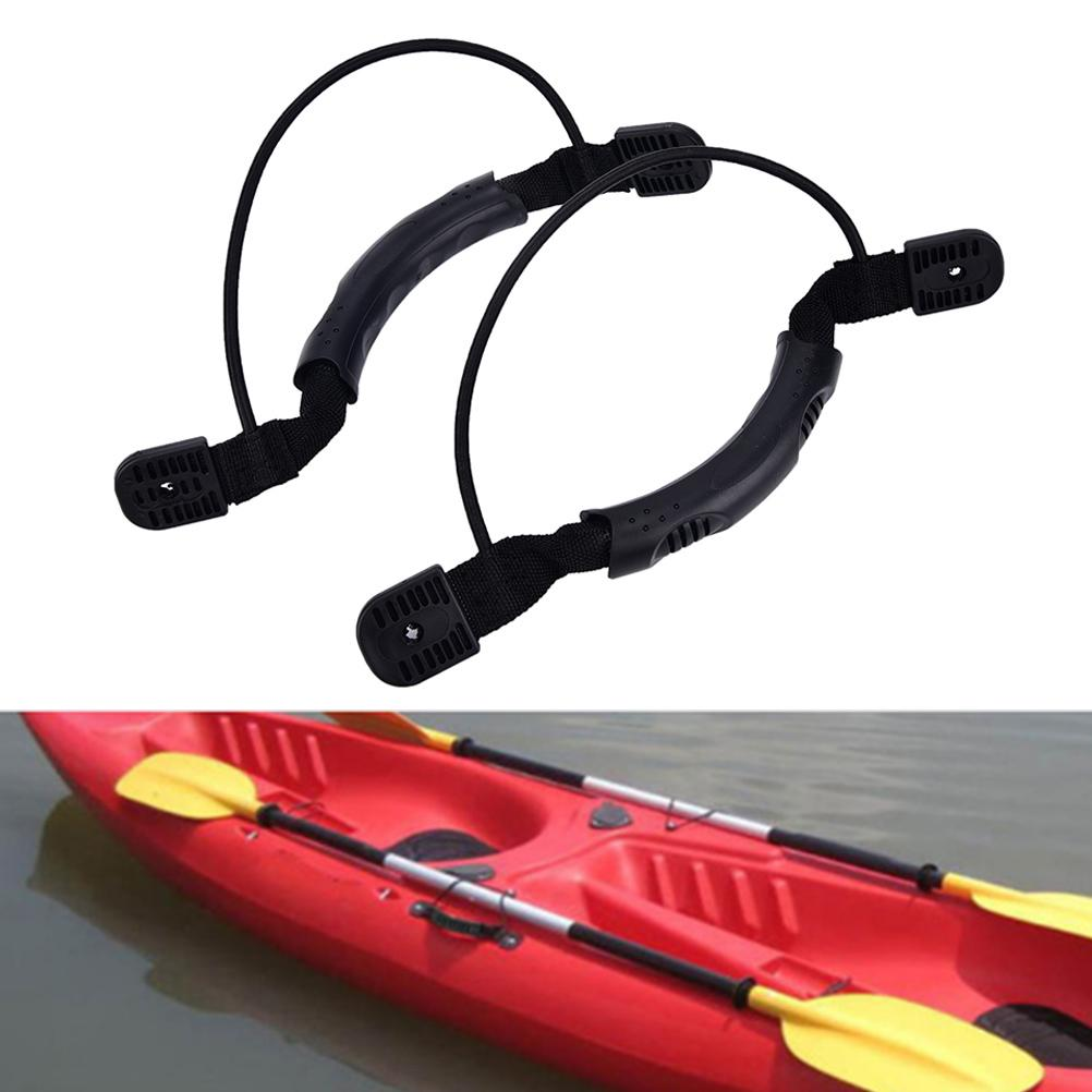 4Pcs Black Kayak Canoe Boat Side Mount Carry Handles Replacement Accessories