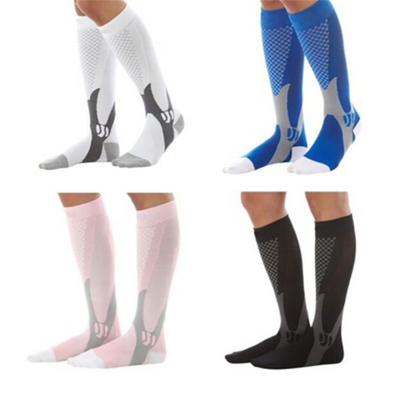 1pc Men Sport Compression Over Knee High Leg Thigh Sleeve Stockings Support Sock