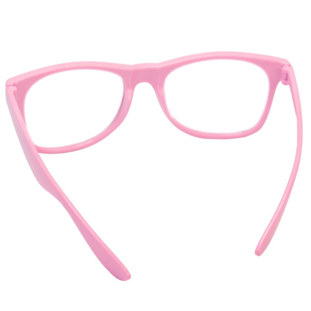 Moda mujer dama claro lente marco completo niña Gafas Anteojos Nerd ...