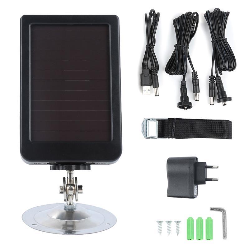 HC300M HC300 Hc500M Hunting Camera Solar Panel Charger Battery External Power