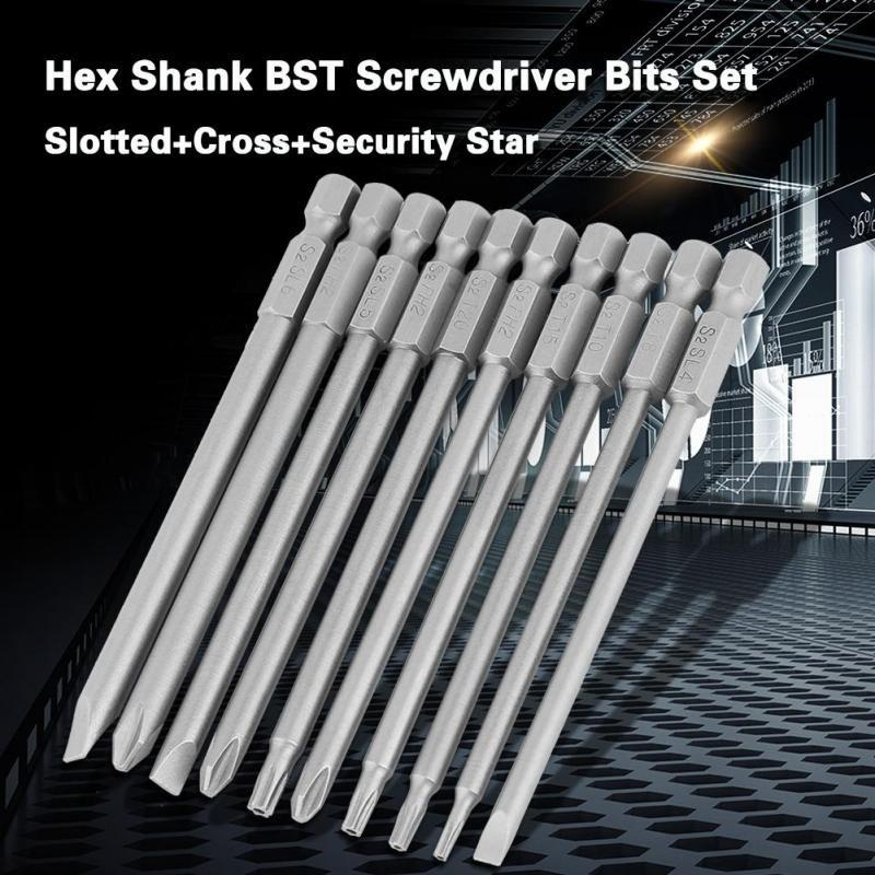 Screwdriver with 6mm magnetic slot with 5 inch shaft