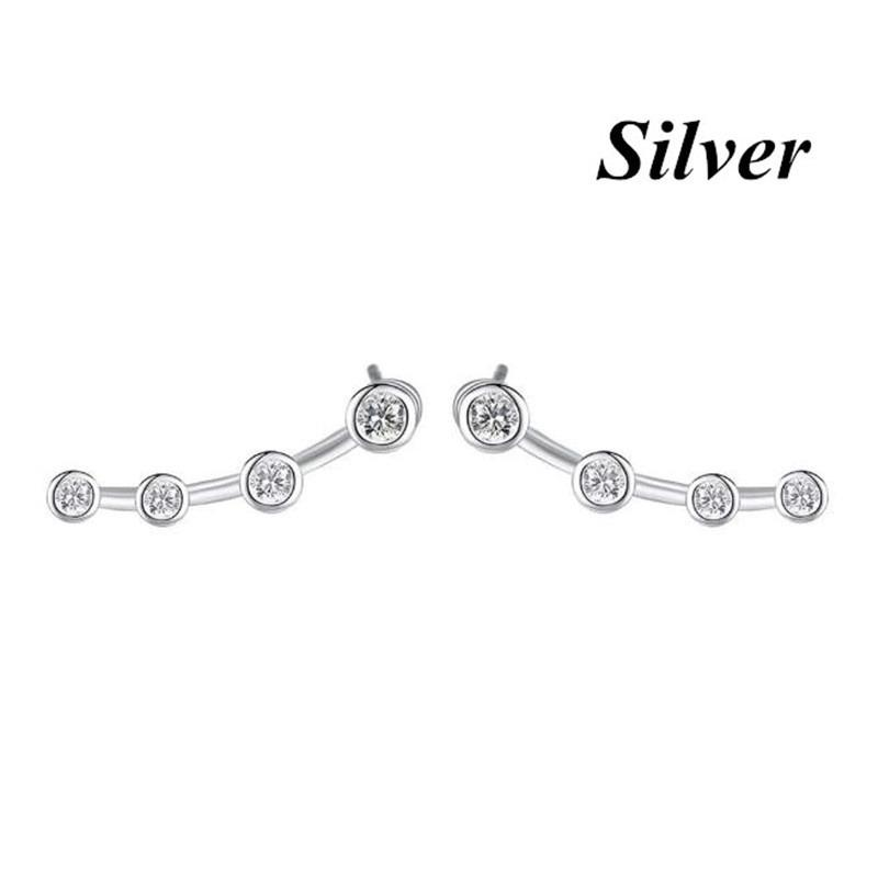 1 Pair Stud Earrings For Women Simple Classic Stainless Steel Ear Studs Buy At A Low Prices On Joom E Commerce Platform