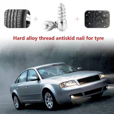 100Pcs Anti-Slip Tire Stud Screws Studded Winter Tire For 12mm Car Auto SUV ATV