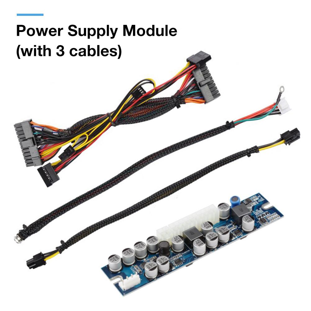 LD-A300W DC-ATX 24Pin Mini ITX DC To ATX PC Power Supply Module W//Cable