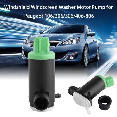 Peugeot 306 Front /& Rear Twin Outlet Windscreen Window Washer Pump