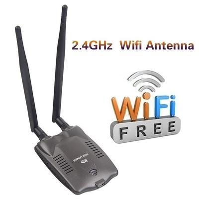 Long Range Password Cracking Internet Antenna Adapter Decoder Pc Wireless  Access Usb Wifi Adapter
