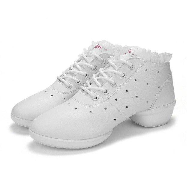 Mujeres bailando zapatos Jazz Hip Hop suave zapatillas cuero para  antideslizante del salón de baile de Salsa hembra vaca - comprar a precios  bajos en la ... 0d611ed9fd9