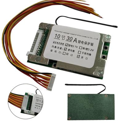 IDH 10S 36V 30A Li-ion Cell 18650 Battery Protection BMS PCB Board