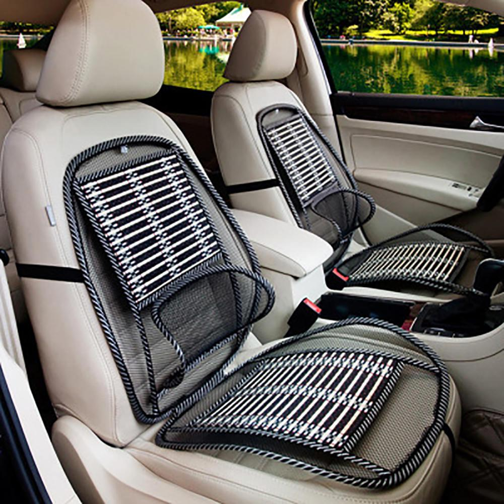 Universal Car Seat Cover For Summer Front Rear Cushion Cooling Mesh Comfy