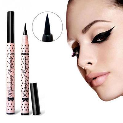 ae9181463c Mujeres ojo líquido Liner lápiz negro delineador líquido pluma belleza  cosméticos herramientas