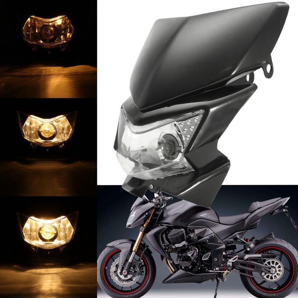 Motorrad geändert gelbes Licht Scheinwerferlampe für Honda Yamaha ...