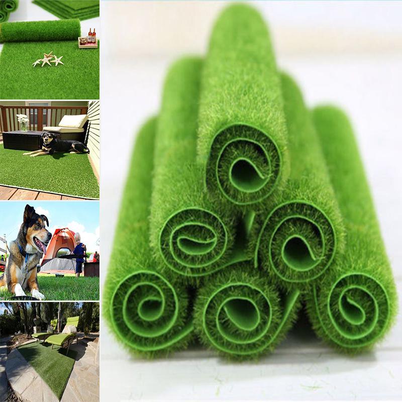 10x Mini Artificial Moss Balls Moss Stones Grass Turf Stones Fairy Garden D