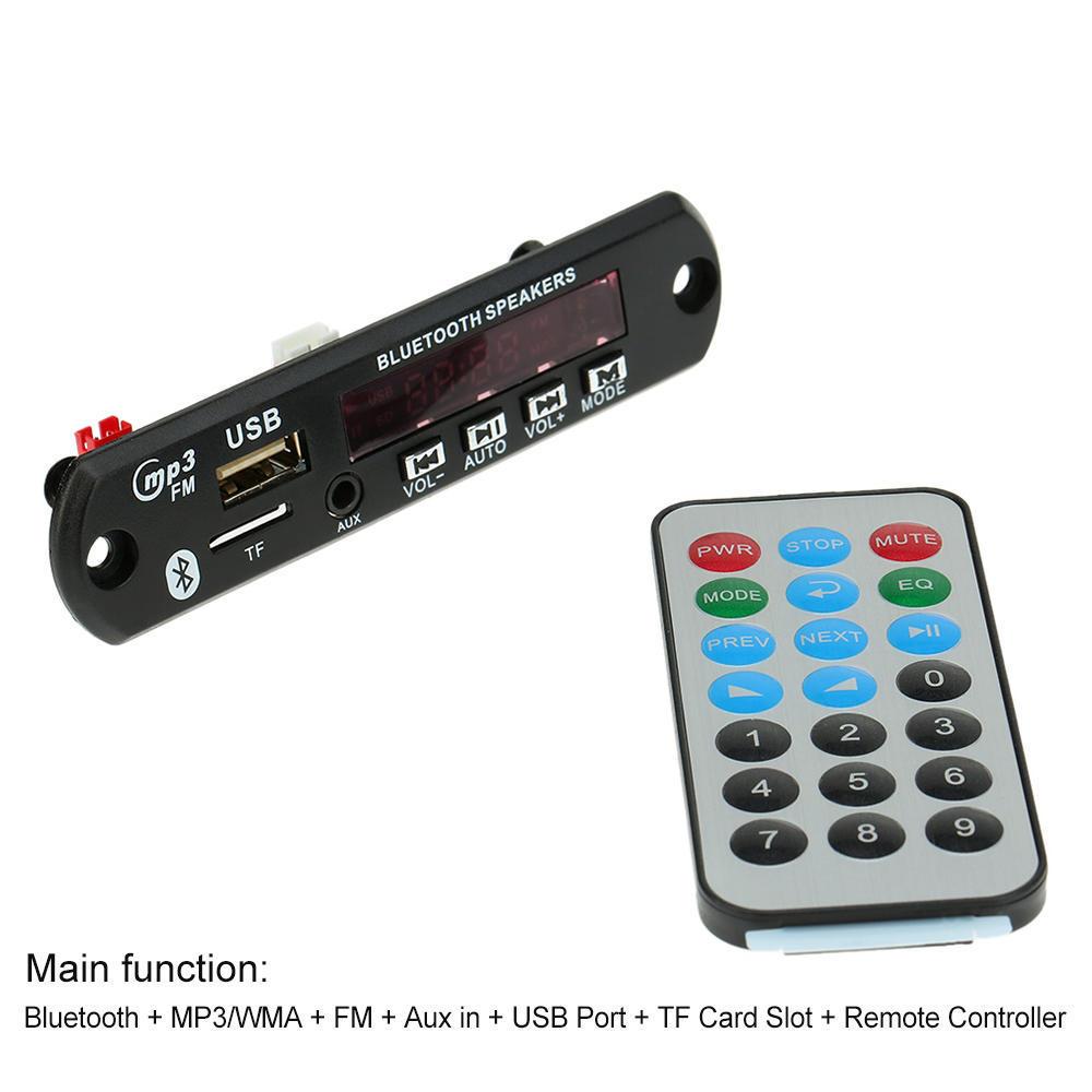 Senza Fili Bluetooth Mp3 Wma Decoder Auto Audio Radio Con Aux In Circuit Board Buy Boardbluetooth Boardfm 2 Of 13