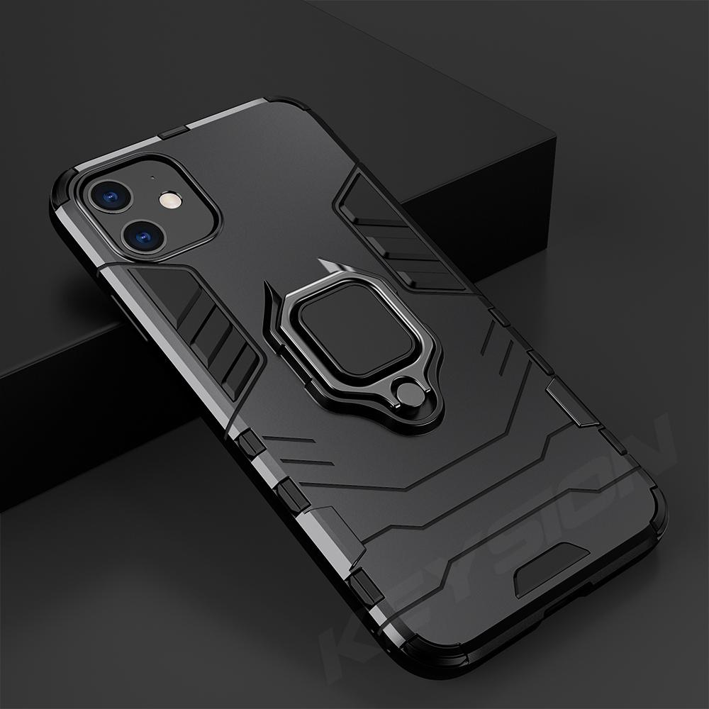 Buy KEYSION Shockproof Armor Case For iPhone 11 Pro Max XS XR 6S 7 8 Plus  5s Stand Car Ring Phone Cover at affordable prices — free shipping, real  reviews with photos — Joom
