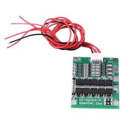 4S 30A 14.8V Li-ion Lithium 18650 Battery BMS PCB Protection Board Cell BalanceH