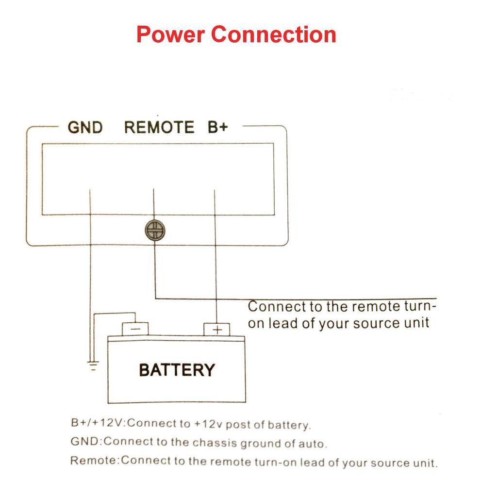 4 Channel Aluminum Car Auto Audio Power Amplifier 1600 Watt Class Ab 60w Inverter Using Transistors 1 Of 11