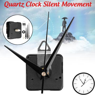 1 /5/10 Pcs  DIY Silent Quartz Clock Movement Mechanism Wall Repair Parts Tool Hands Fitting Kit Motor Tide Controlled Home Hosuhold