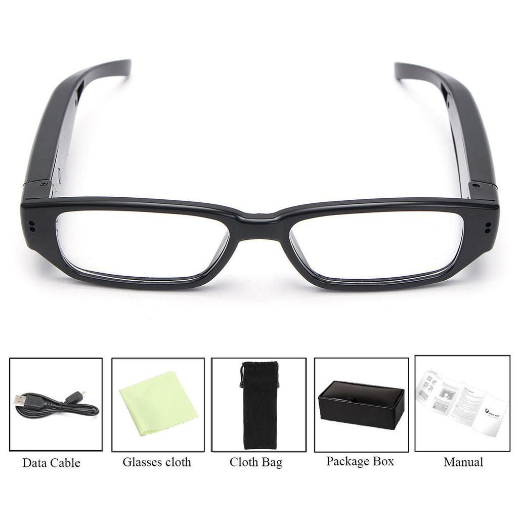 720p HD gafas espía deporte cámara escondida encubiertas gafas de ...