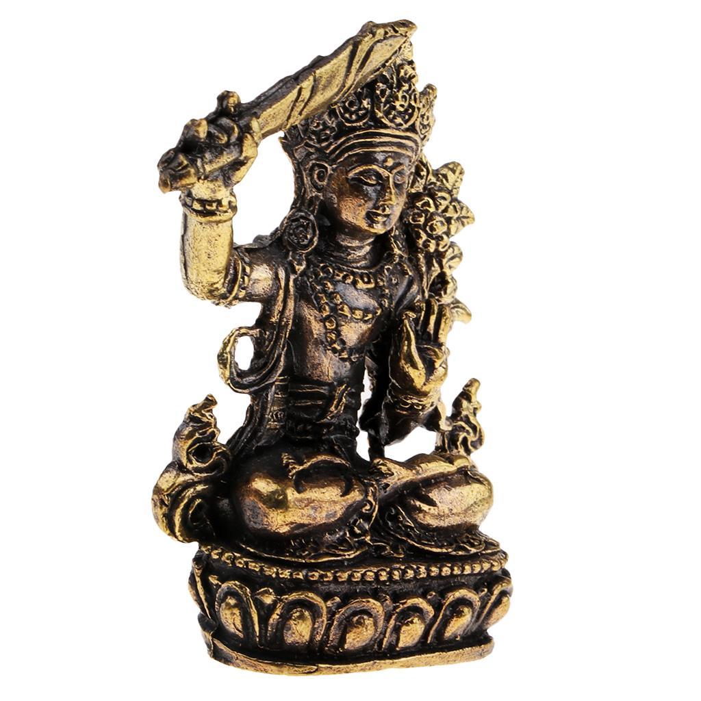 Китайские Будды статуя религия скульптура ремесла буддийская статуэтка декор а – купить по низким ценам в интернет-магазине Joom