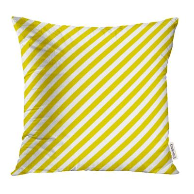 Geometric Pattern Stripe Orange White Colors Chevron Abstract Summer Diagonal Pillow Case Cover 16x16inch 40x40cm Buy At A Low Prices On Joom E Commerce Platform