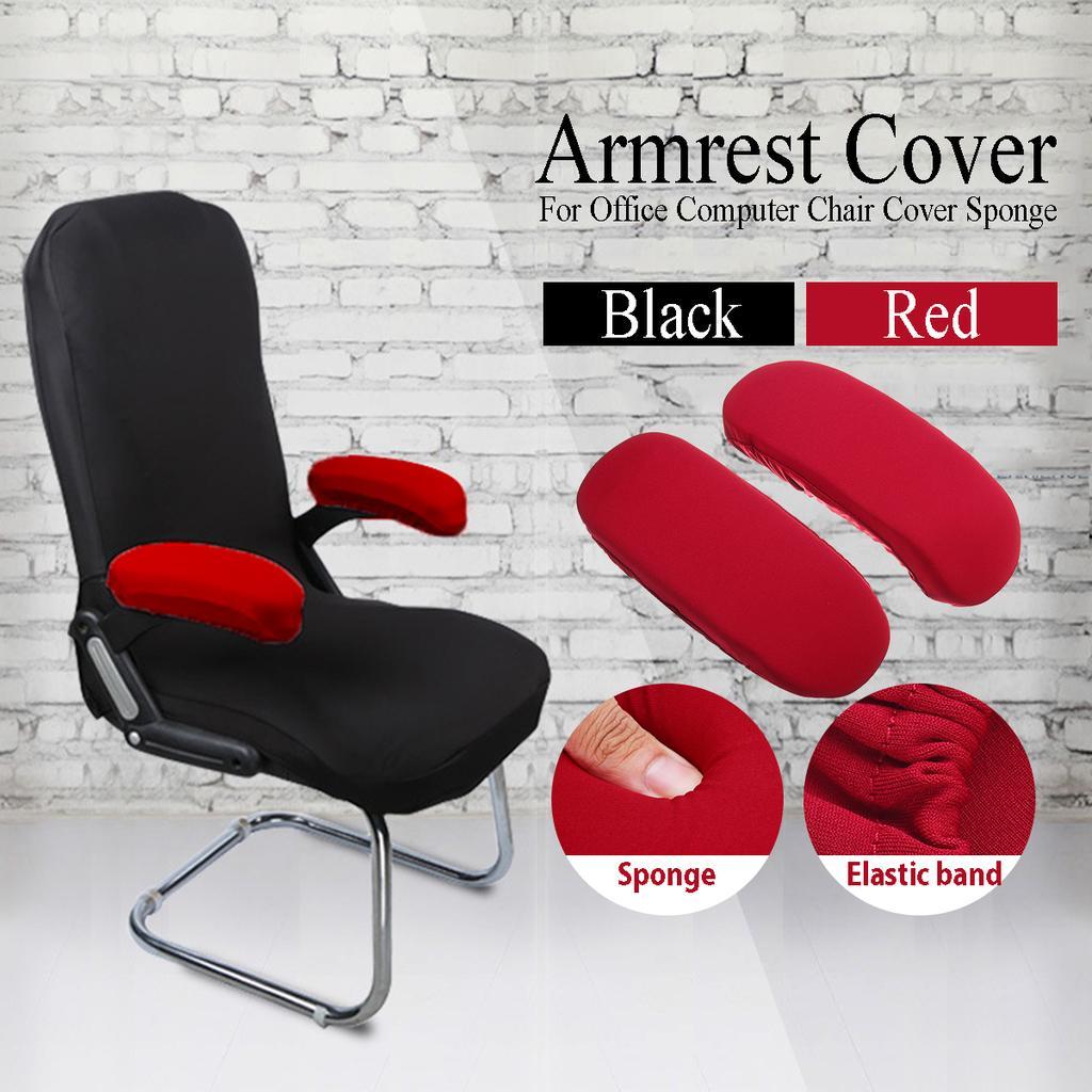 1Pair//2X Armrest Cover Office Computer Chair Armchair Sponge Elbow Pads