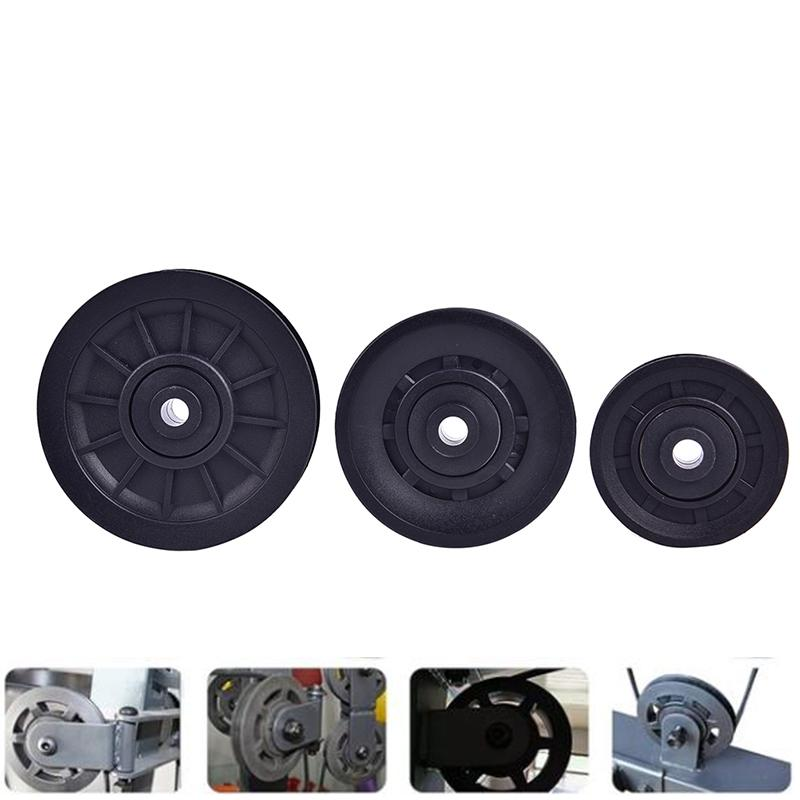 4Pcs 70mm//90mm//105mm Diameter Bearing Pulley Wheel Cable Gym Fitness Equipm F un