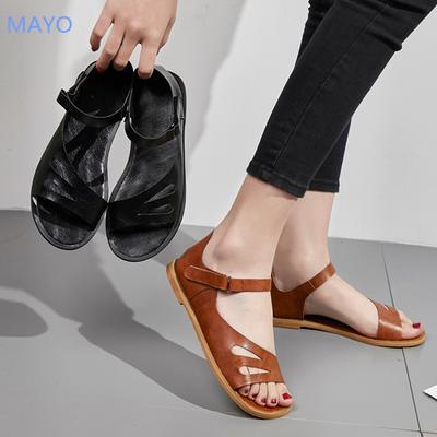 Women's Ladies Fashion Ankle Flat Heel
