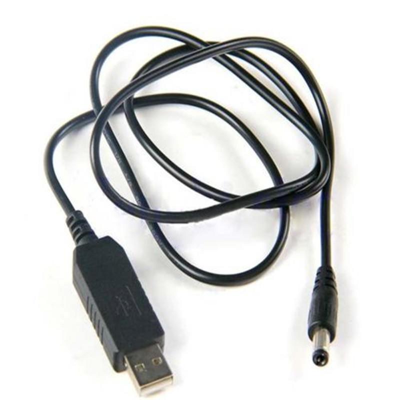 DC-DC Converter Cable USB 5V to 9V//12V DC Jack 5.5mmx2.1mm Step-up Power Module