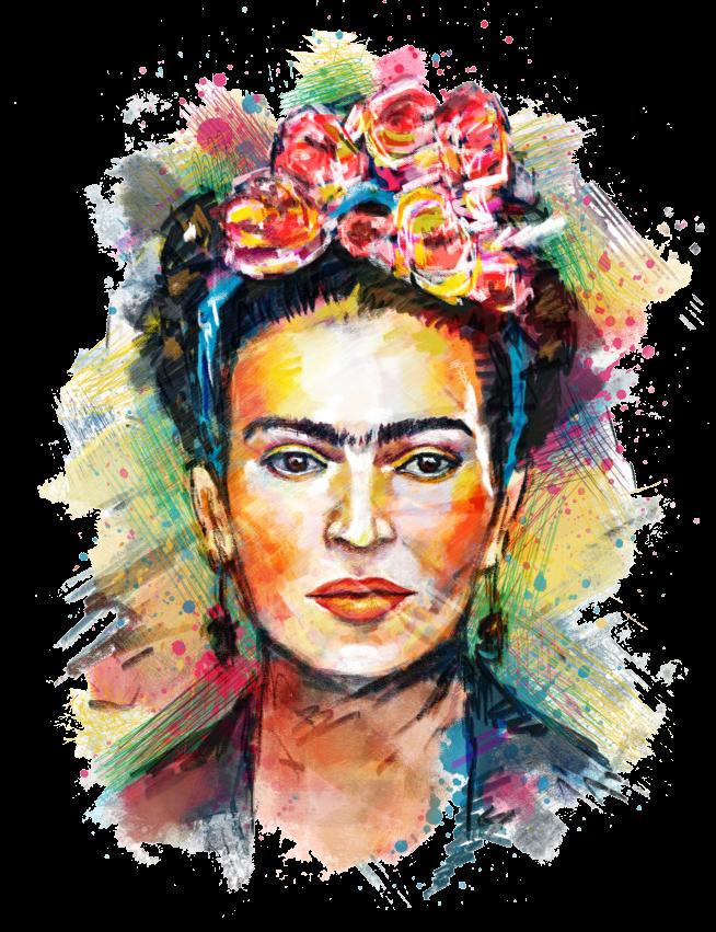 Frida Kahlo Iron on Heat Transfer Printing Patches Sticker Washable For T-shirts