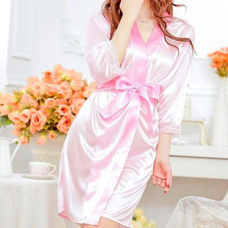 e0d290999b Women Fashion Fantastic Sexy Wild Temptation Lace Sleepwear Bathrobe ...