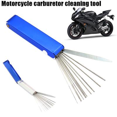 Carb Jet Cleaning Tool Set Carburetor Wire Cleaner Set For